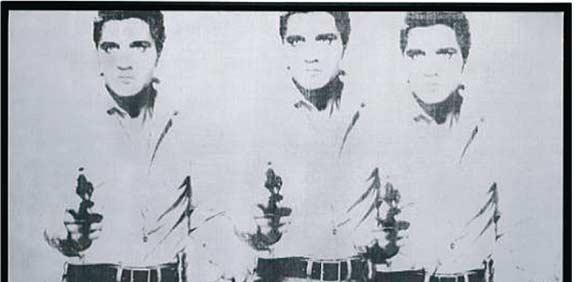 שלושה אלוויס / אנדי וורהול