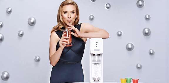 Scarlett Johansson SodaStream ad