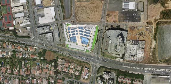 Planned new Ra'anana Mall