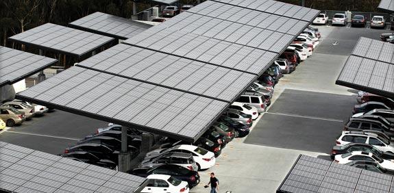 מגרש החניה באוניברסיטת סן דייגו / צילום: רויטרס
