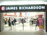 """ג`יימס ריצ`רדסון חנות ג'יימס ריצ'רדסון דיוטי פרי נתב""""ג"""