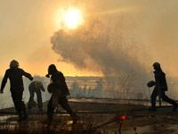 שריפה בכרמל חיפה / צלם: בן יוסטר