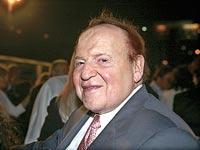 שלדון אדלסון, הימורים מקוונים באינטרנט / צילום: תמר מצפי