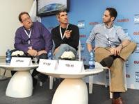 פאנל SmartUp בוועידת ישראל לעסקים / צילום: איל יצהר