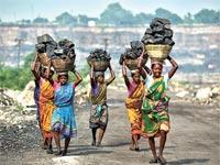 כורות פחם בהודו / צילום: רויטרס