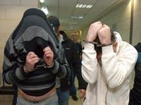 החשודים בפרשת לאומי קארד / צילום: ניב אהרונסון - וואלה חדשות