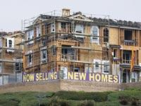 בית בבנייה בלונדון / צילום: רויטרס
