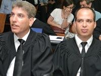 עורך דין אהוד גינדס ועורך דין חגי אולמן / צילום: תמר מצפי