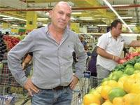 שלום נעמן מחסני השוק/ צילום: תמר מצפי