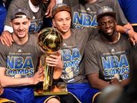 גולדן סטייט אלופת ה-NBA / צלם: רויטרס