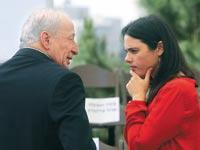 איילת שקד ויהודה וינשטיין / צילום: מארק ישראל סלם