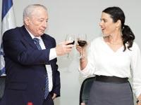 איילת שקד ויהודה ויינשטיין / צילום: דוד ועקנין