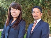 """עוה""""ד הג'ימה איוואקי ומאקיקו קאוומורה / צילום: תמר מצפי"""