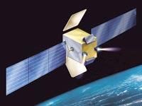 הלוויין החדש עמוס E / הדמיה: התעשייה האווירית