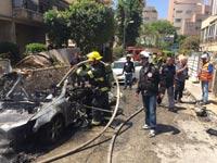 3 פצועים בפיצוץ רכב בגבעתיים: הרקע ככל הנראה פלילי