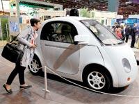 המכונית האוטונומית של גוגל / צילום: רויטרס