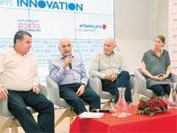 משתתפי הפאנל, Inspiration for Innovation / צילומים: ענבל מרמרי