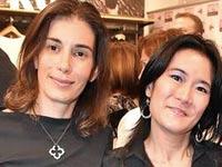 כריסטינה הו (מימין) ורוני גינצבורג / צילום: טל שחר