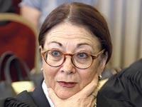 השופטת אסתר חיות / צילום: אלון רון