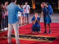 עמית ורז הזוכים במירוץ למיליון / צילום: מיכה לובטון