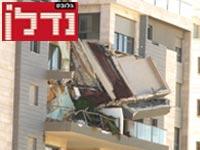 המרפסת שנפלה. חשוב להסדיר את ההיבט השמאי / צילום: גיל ארבל