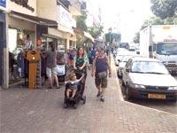 רחוב הרצל ברחובות / צילום:יואב שפירא