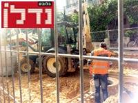 עבודות תשתית בעיר / צילום: שלומי יוסף