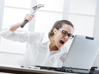 עצבים בעבודה /  צילום:  Shutterstock/ א.ס.א.פ קרייטיב