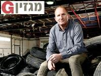 """אמיר הדס, מנכ""""ל חברת מיחזור הצמיגים תמ""""צ / צילום: איל יצהר"""