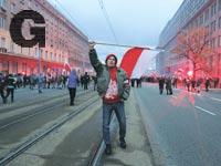 הפגנת הימין הקיצוני בפולין  / צילום: רויטרס - Agencja Gazeta