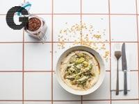 חומוס צלוי עם ברוקולי של מסעדת יפו/ צילום:julien benaiteau