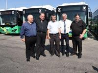 השקת אוטובוסים חשמליים של אגד - יחצ