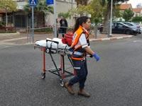 """אירוע שריפה בחולון / צילום: תיעוד מבצעי מד""""א"""