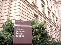 בניין רשות המס האמריקאית/ צילום: Shutterstock/ א.ס.א.פ קרייטיב