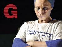 אמו של אברה מנגיסטו / צילום מהעצרת: שחר מילגרום