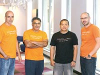 """מייסדי הקרן Follow (the) Seed, מימין: שירבן, שי, מליק ואללוף  / צילום: יח""""צ"""