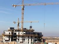 בנייה בעיר באר שבע.   / צילום: אייל פישר