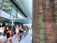 """הבורסה בת""""א / צילום: בלומברג"""