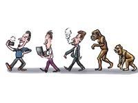 אבולוציה / איור: גיל ג'יבלי