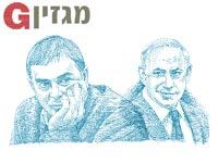 בנימין נתניהו ושלמה פילבר / איורים: גיל ג'יבלי