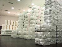 מחסן הסיבים של ספאנטק בארצות הברית / צילום: רון שטיינבלט
