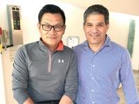 שי אגסי וג'ון ליאו/ צילום: הכשרת מנהלים, הבינתחומי