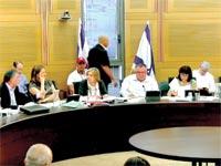 ישיבת הוועדה המיוחדת בנושא פיצול התאגיד / צילום מסך