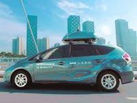 """הרכב האוטונומי של NAVER / צילום: יח""""צ"""