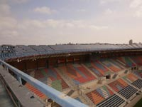 גג סולארי באצטדיון טדי / צילום: ששון תירם