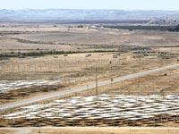 שדה סולארי בערבה / צילום: רויטרס