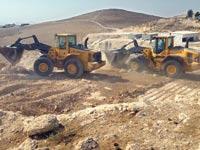 הריסת בנינים לא חוקיים בנגב  / צילום: רשות מקרקעי ישראל