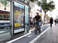 רוכבי אופניים בתל אביב / צילום: מירב מורן