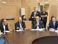"""ועדת הכספים של הכנסת/ צילום: לשכת יו""""ר האופוזיציה"""