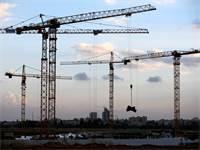 בנייה בקריית גת / צילום: רויטרס